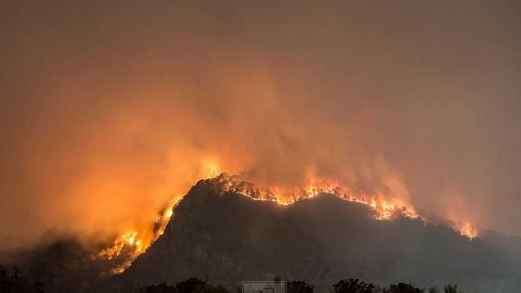 Lake Lure fire
