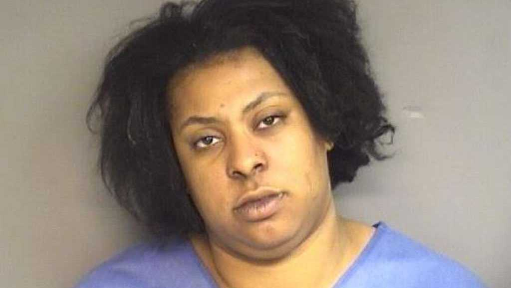 Cellina Kelly, 31, of Stamford, was charged with breaking into a Stamford church in Waterside and causing extensive damage. Police say Kelly was naked at the time.