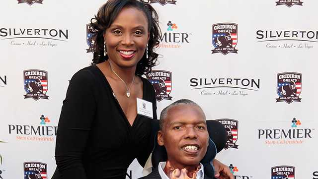 Chanda and O.J. Brigance