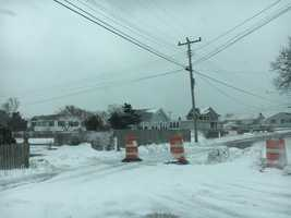 Lines down on Chapin Beach Road