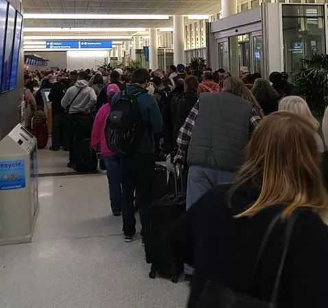 Charleston airport evacuated over suspicious laptop