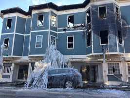 Charlestown fire ice