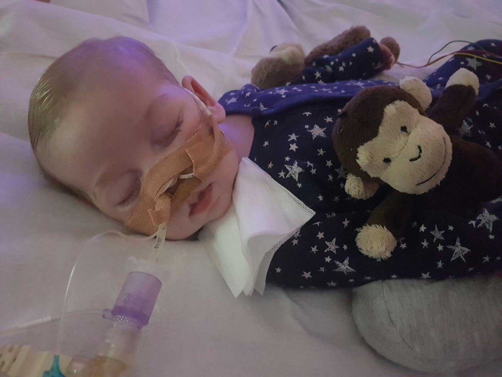 charlie gard terminally ill life support family via cnn