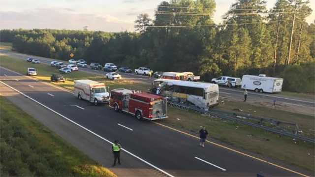 A football charter bus crashed in North Carolina, leading to multiple deaths and dozens of injuries.