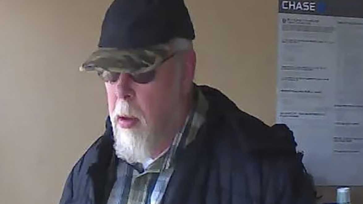 Elk Grove police are looking for a man who they said robbed a bank Saturday afternoon. March 25, 2017