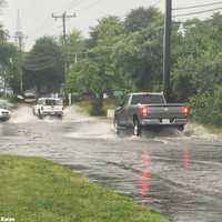 Flash flooding on Cape Cod