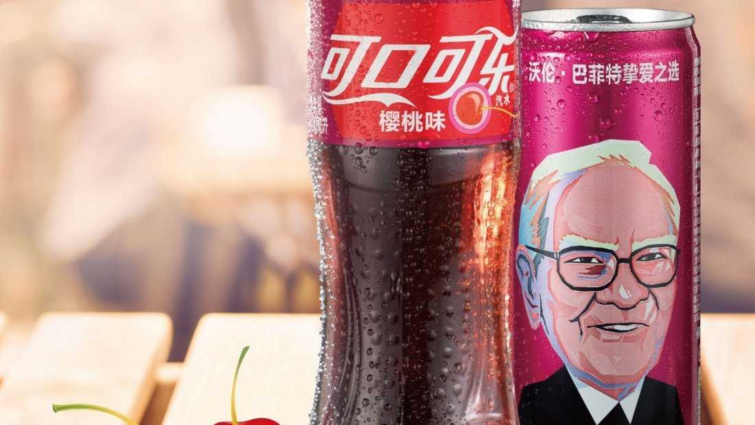 People in China are coming face to face with Warren Buffett's love for Cherry Coke.