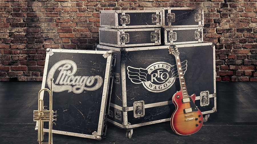 Chicago, REO Speedwagon co-headline tour coming to Hollywood Casino Amphitheatre
