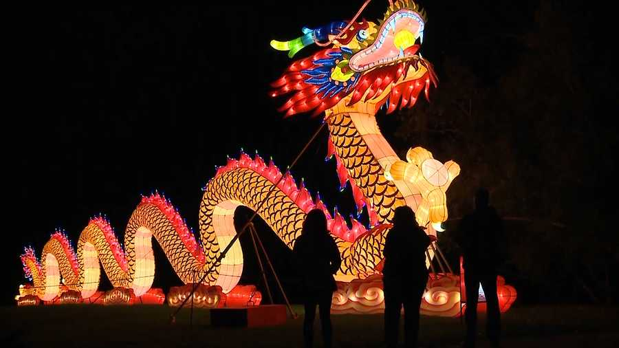 returning china lights festival to be 95 percent brand new