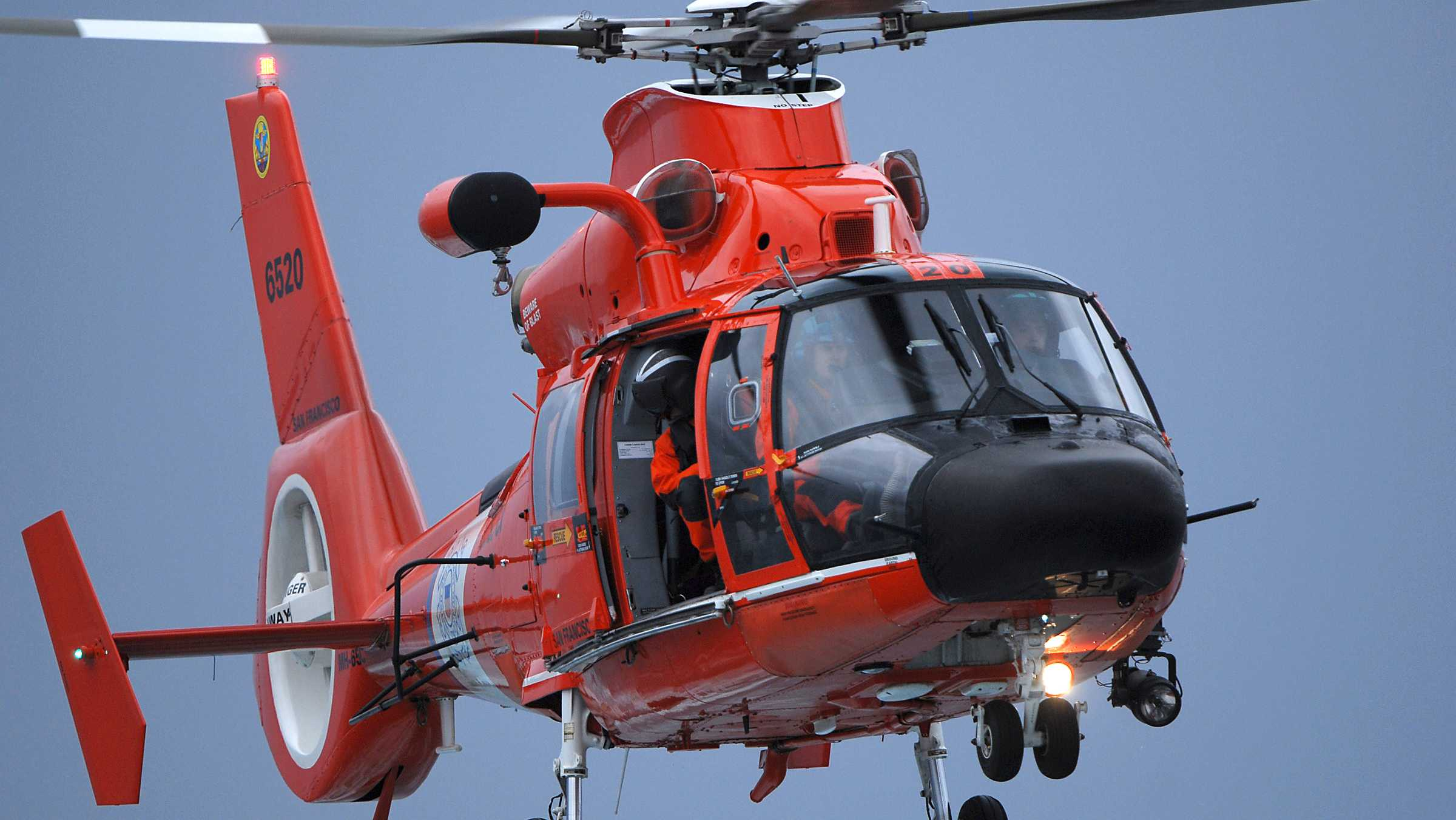 Helicopter for Coast Guard