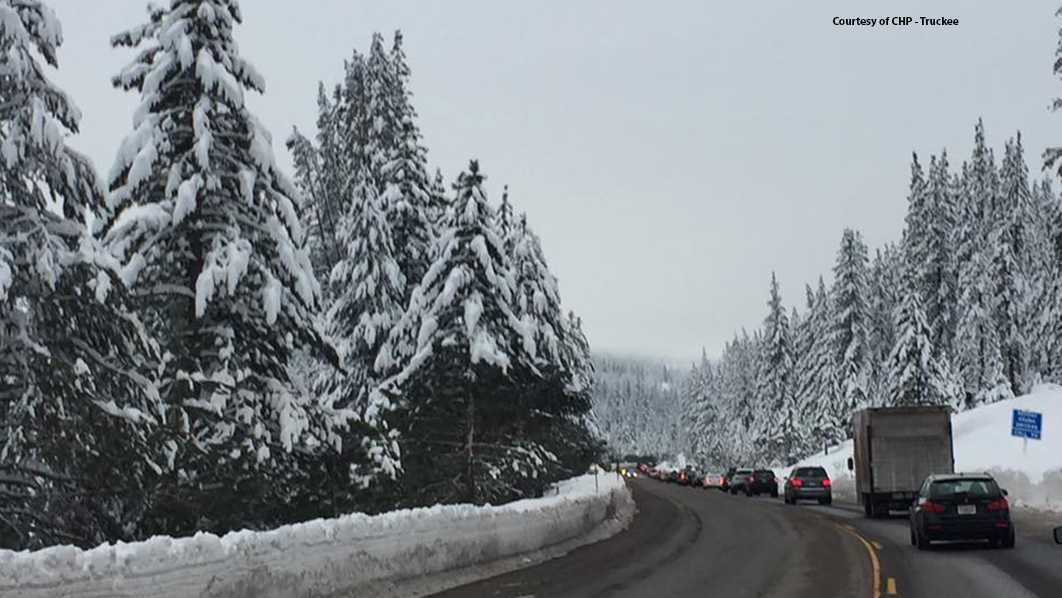 Heavy traffic expected in the Sierra ahead of busy holiday weekend. Jan. 14, 2017