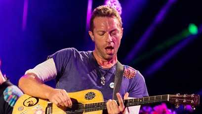 Chris Martin of Coldplay performs at The Budweiser Made In America Festival on Sunday, Sept. 4, 2016, in Philadelphia.