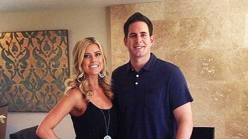 Christina and Tarek El Mouussa