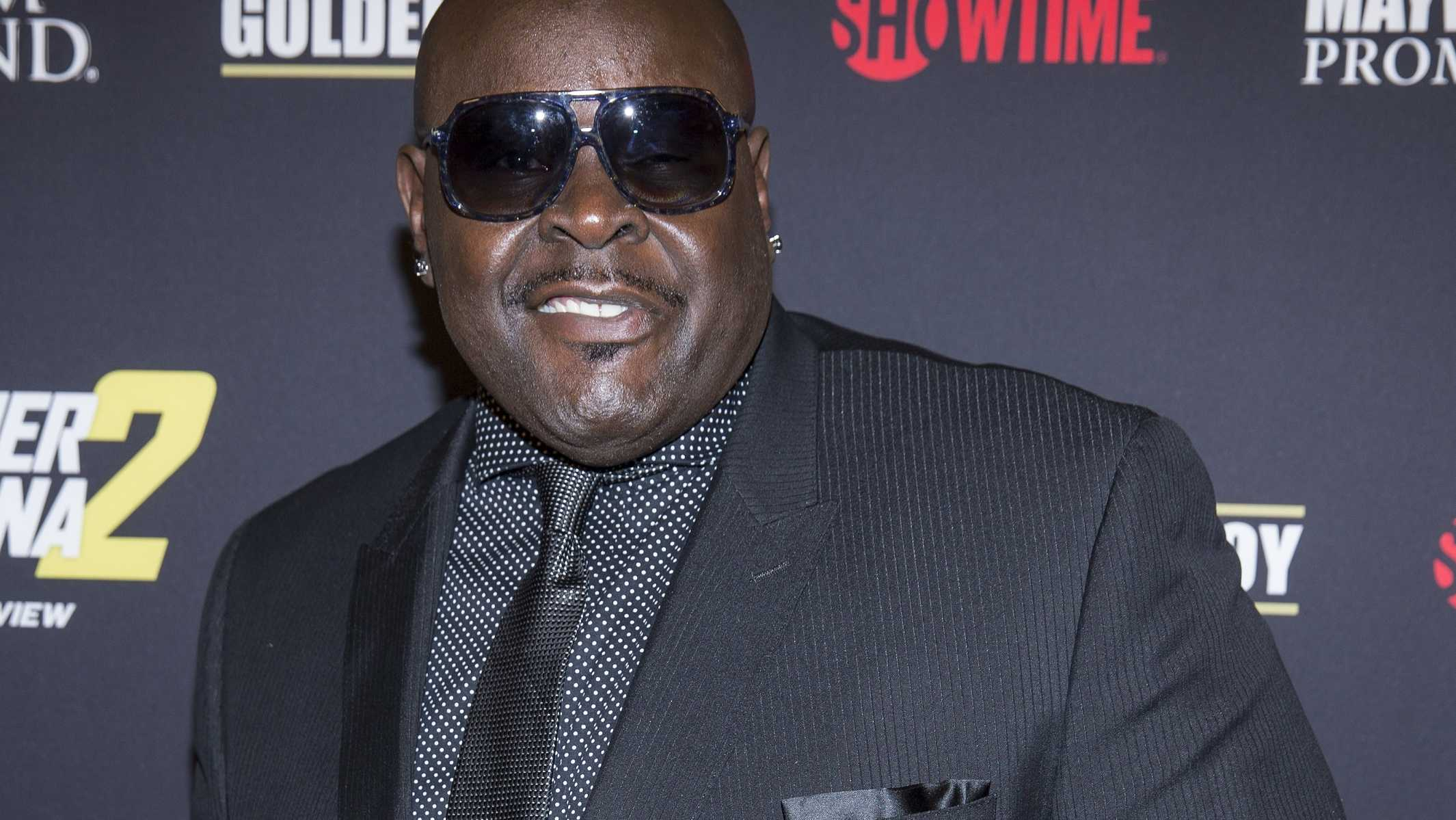 Christopher Boykin (Big Black) arrives at the VIP Pre-Fight Party for Mayhem: Mayweather Vs. Maidana 2, Saturday Sept. 13, 2014, at The MGM Grand Garden Arena in Las Vegas.