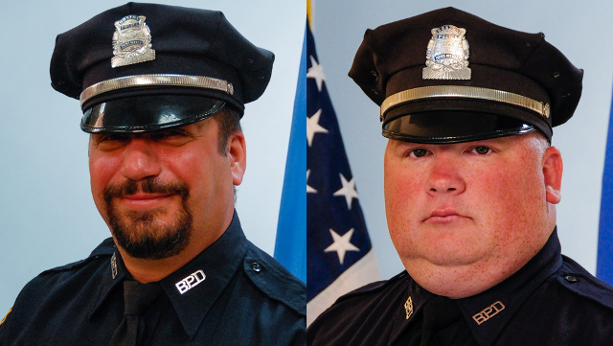 Boston police officers Richard Cintolo and Matthew Morris