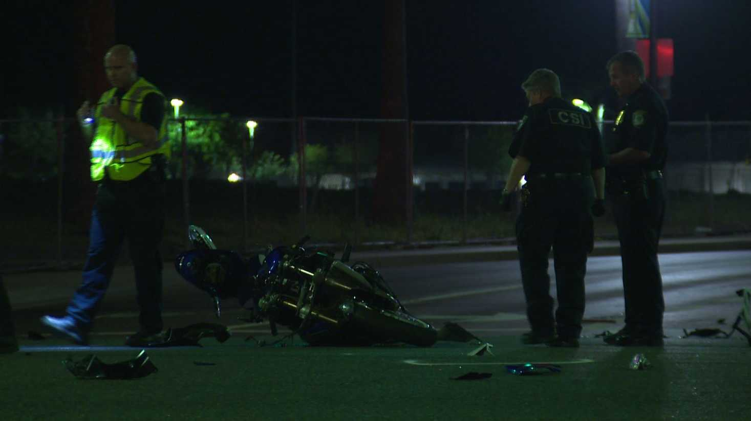 Citrus Heights police are investigating a fatal motorcycle crash that shut down a major roadway, the department said. April 2, 2017