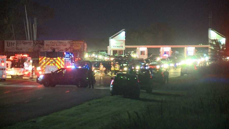 Deadly shooting at Wisconsin drag racing event