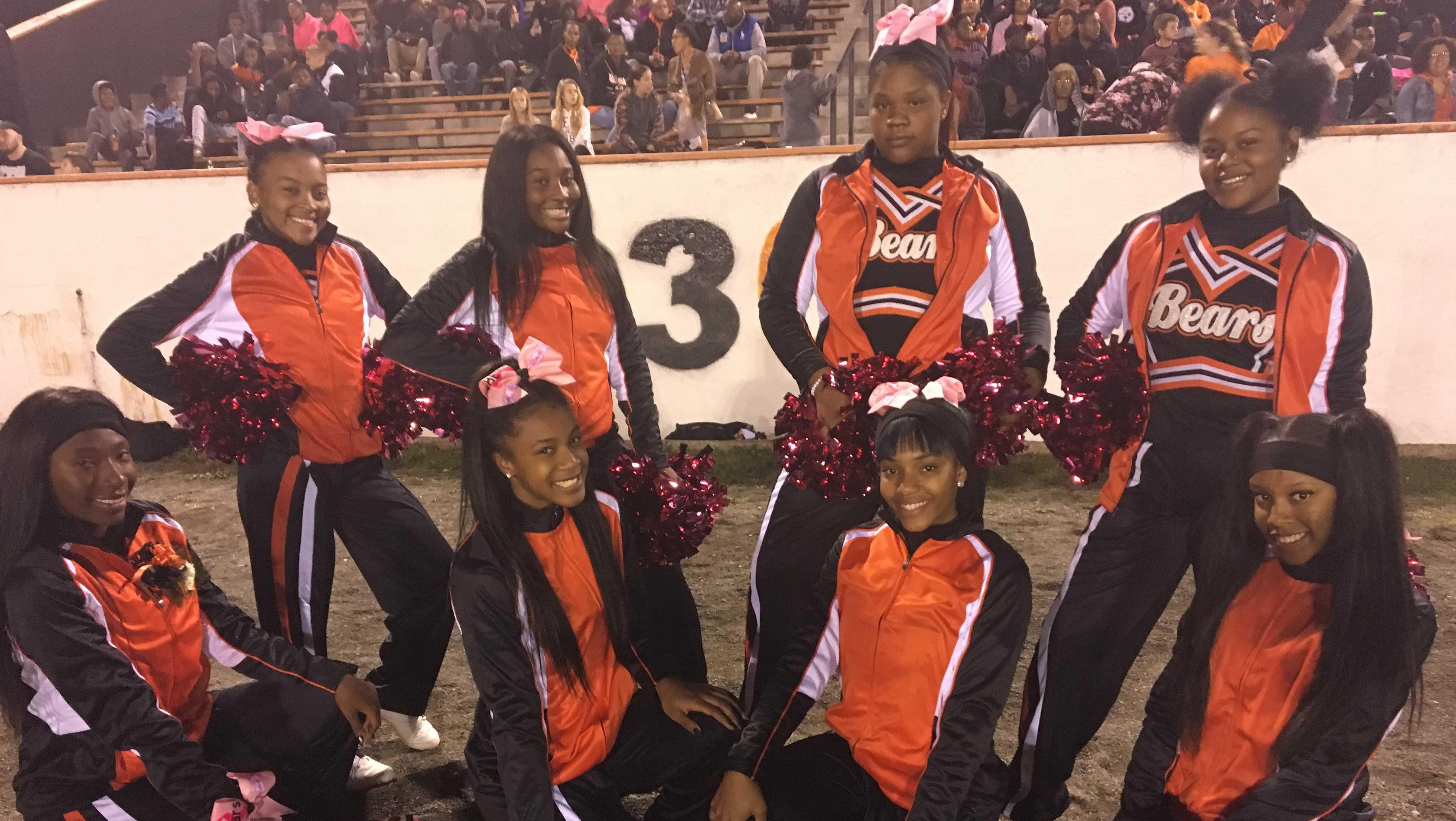 Clairton cheerleaders