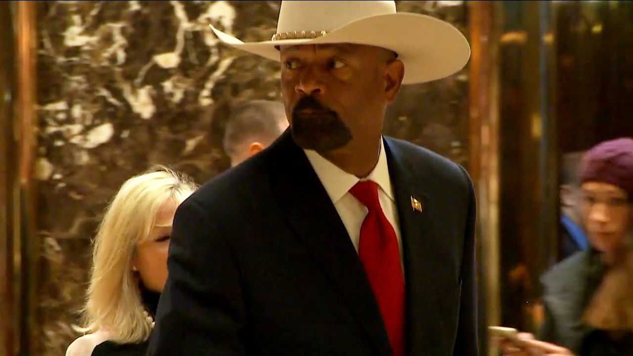 Sheriff David Clarke reverses acceptance of Homeland Security role