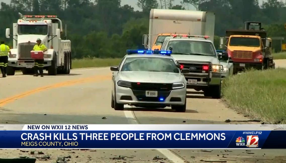 3 people from Clemmons dead after head-on crash in Ohio