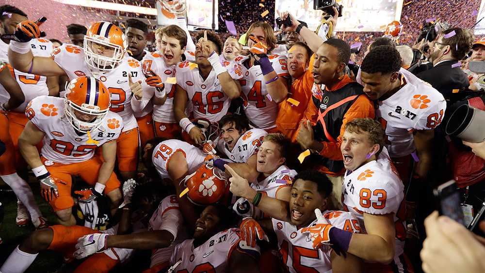 Clemson national championship win