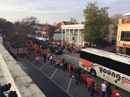Clemson parade