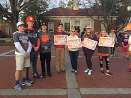 Clemson Tigers parade