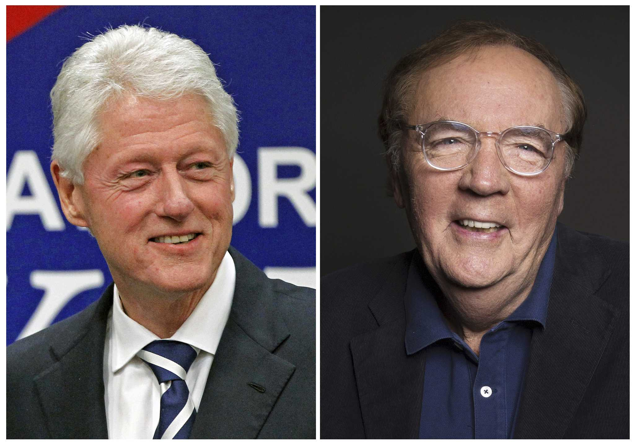 Bill Clinton writing thriller with James Patterson