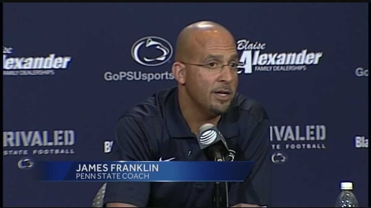 Penn State football coach James Franklin gets contract extension
