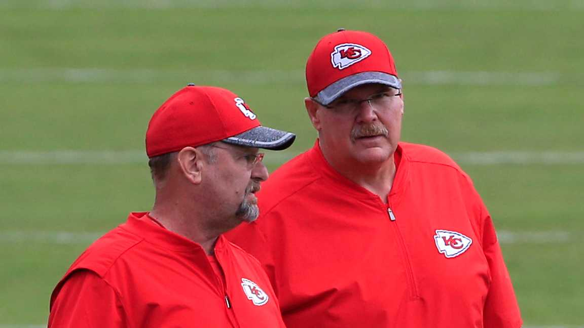 Brad Childress and Andy Reid
