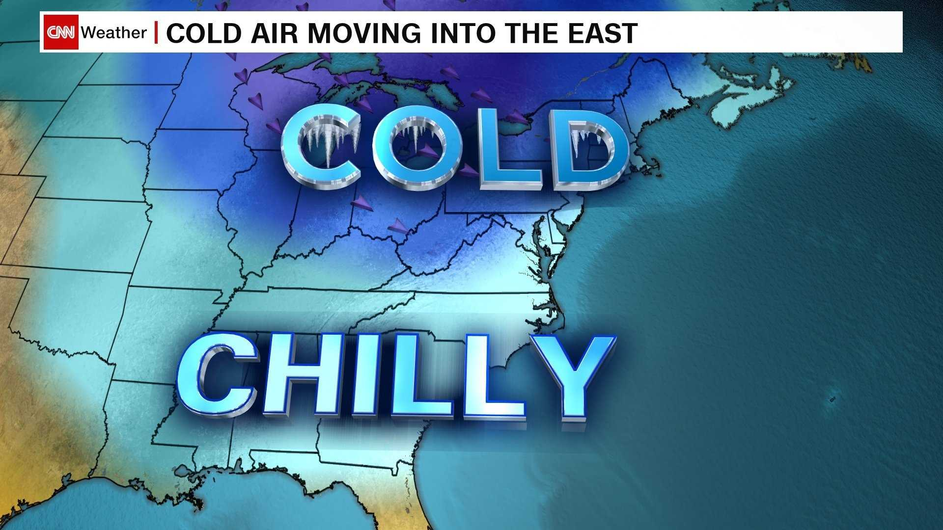 Bundle up and chill out: Record lows possible in Northeast by the weekend | WXII 12