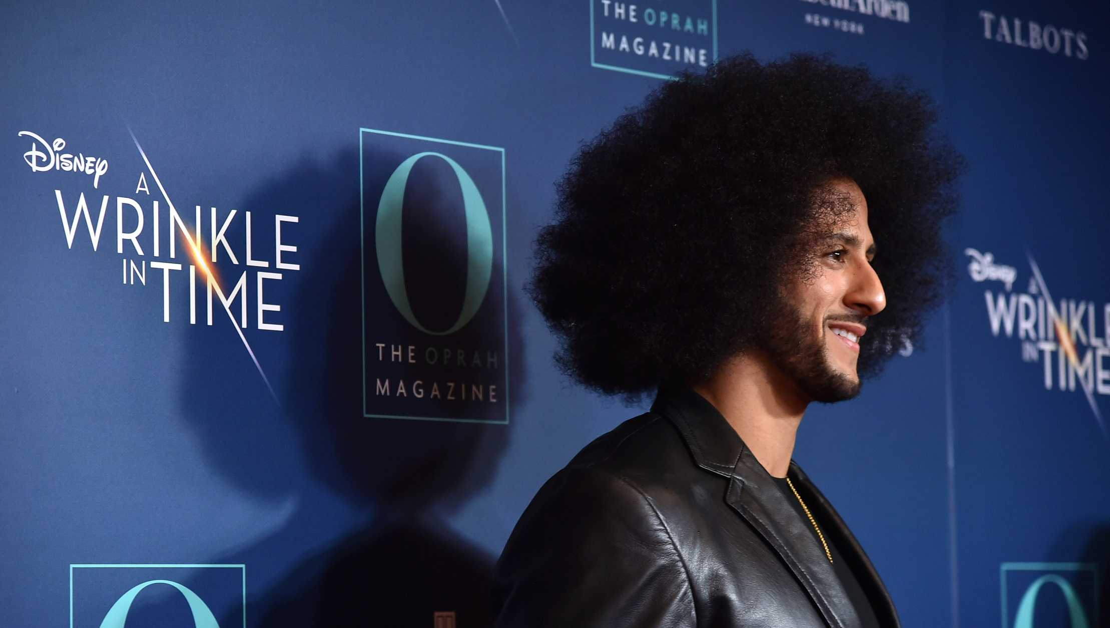 Colin Kaepernick attends an NYC screening of 'A Wrinkle In Time' at Walter Reade Theater on March 7, 2018 in New York City.