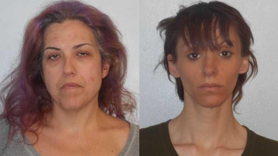 Rhianna Frenette (left) and Felicia Farruggia (right)