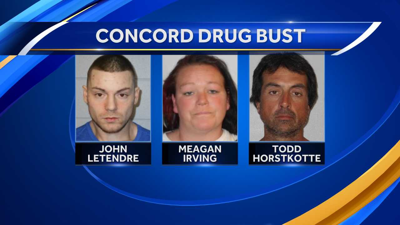 Concord drug bust