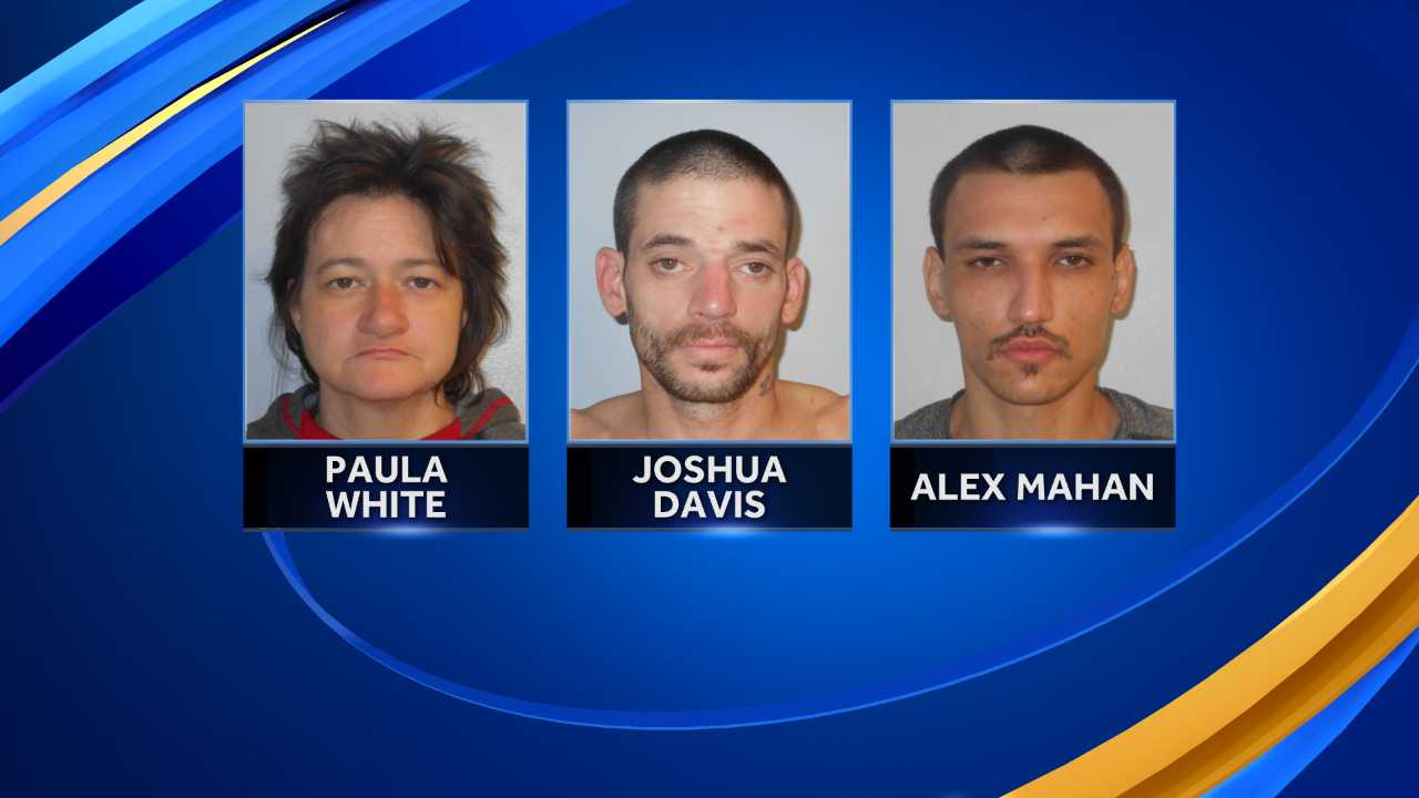 Three charged with selling drugs in Concord