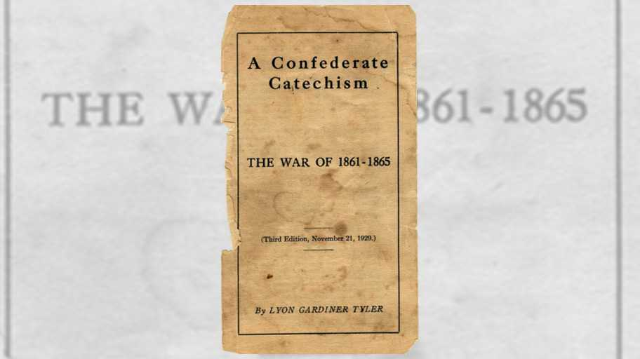 "A decades-old booklet called the ""Confederate Catechism"" lays out core beliefs of some Southern heritage groups. That includes the Sons of Confederate Veterans, which has defended Old South monuments in New Orleans and elsewhere."