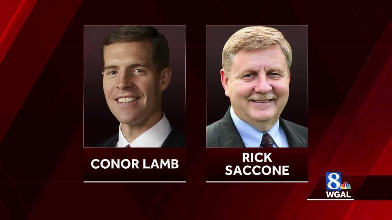 Conor Lamb and Rick Saccone