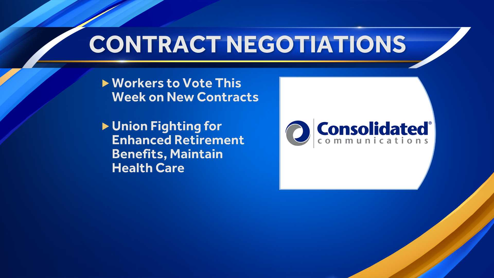 Consolidated, unions reach tentative agreements on contracts