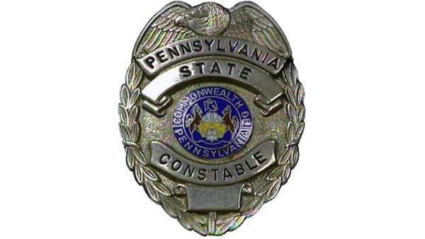 A Pennsylvania state constable badge.