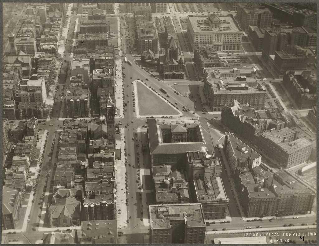 Copley Square 1930