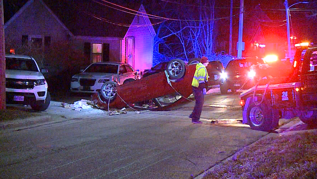 Rollover Crash, Council Bluffs