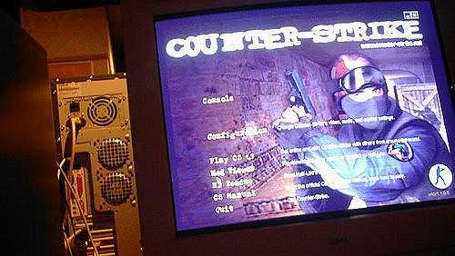 A screenshot from Counter-Strike.