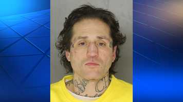 A mug shot of Paul Spadafora after his arrest Wednesday night.