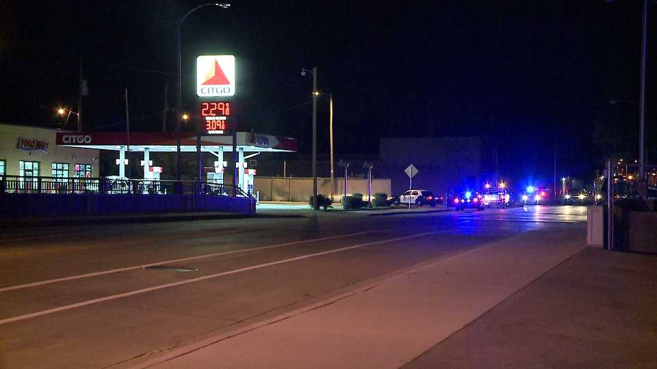 Car crashes into gas pump at CITGO station in Milwaukee