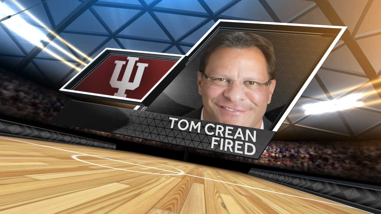 Indiana coach Tom Crean has been fired after nine often lackluster seasons.
