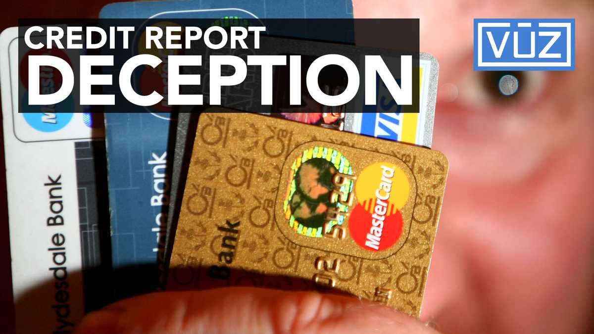 Two major credit report bureaus have been fined for for 3 bureau credit report