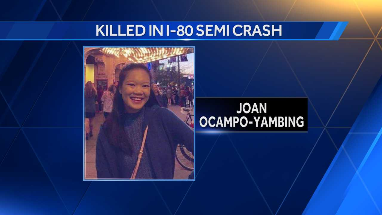 Victim killed in I-80 crash identified