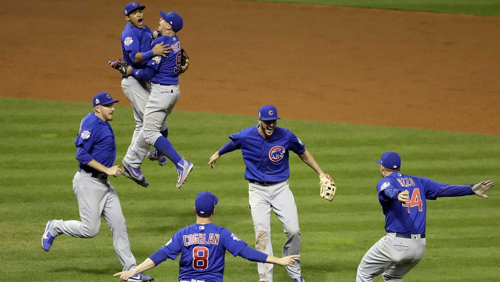 Cubs win World Series