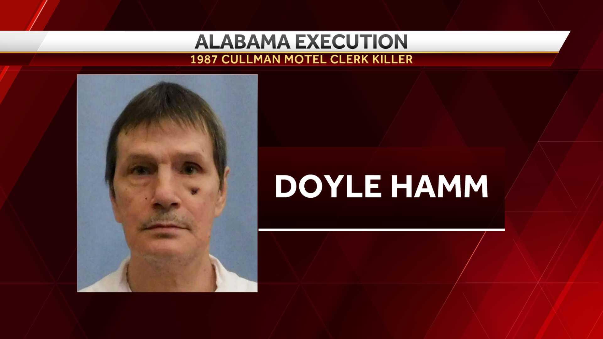 Cullman clerk killer execution in Alabama