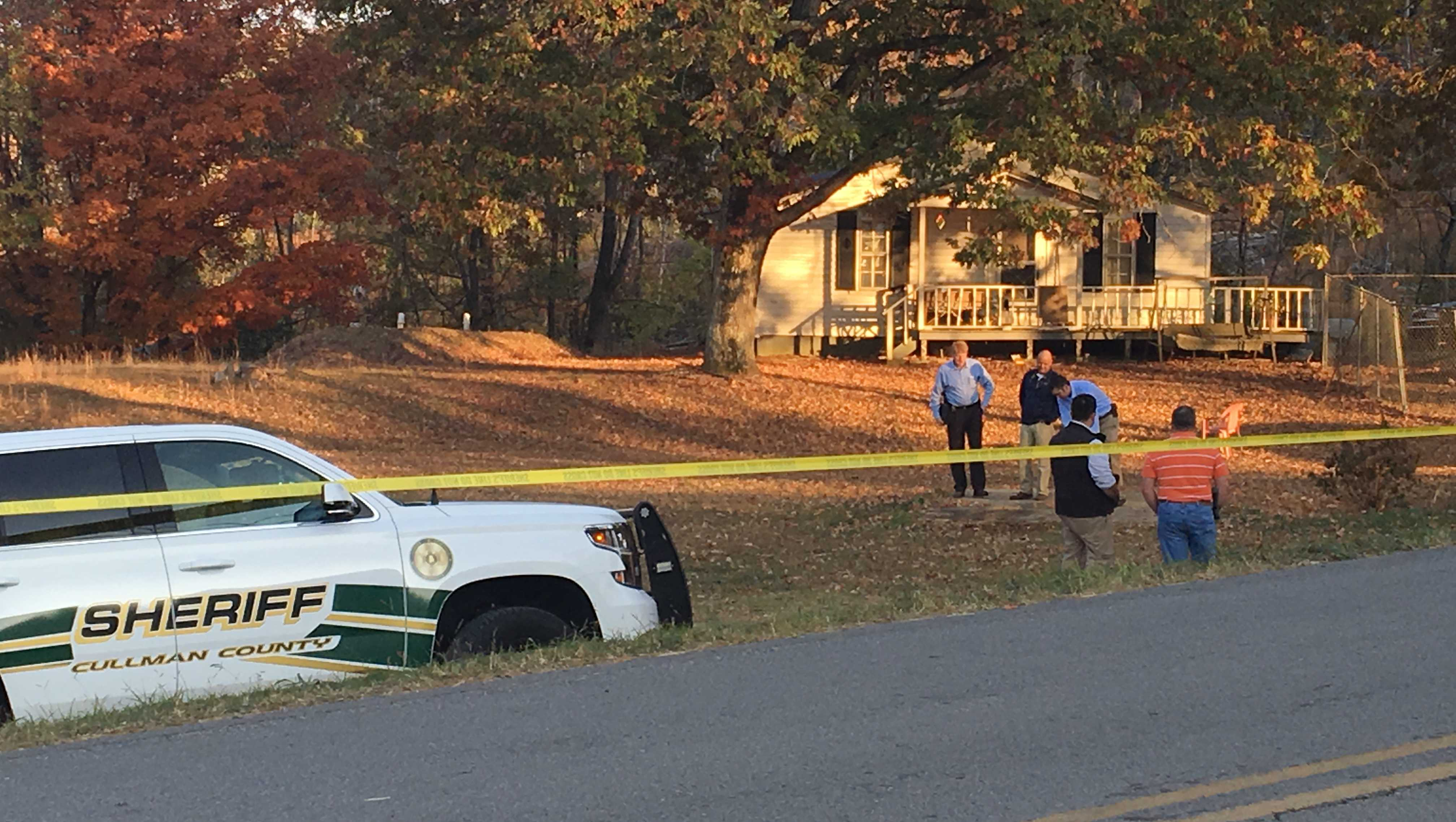 Scene of Cullman County deputy-involved shooting